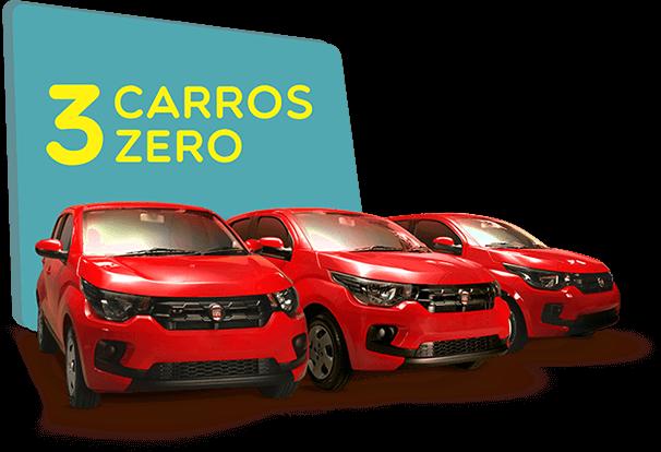 3 Carros Zero
